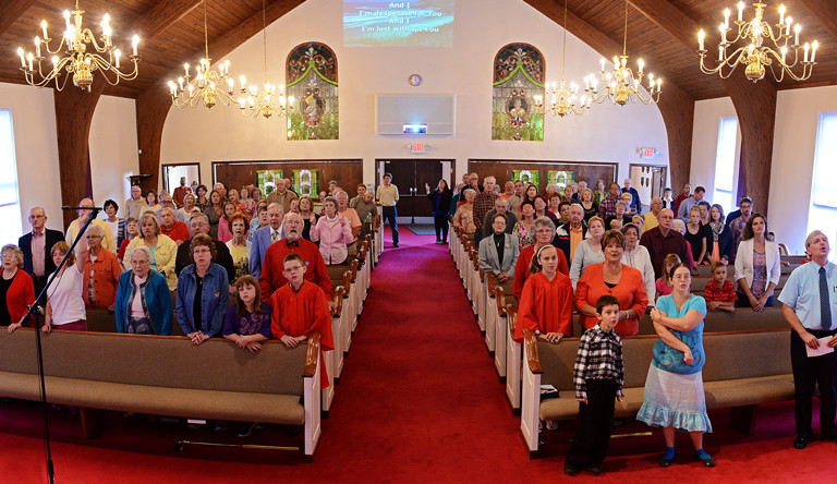 Join us for Worship. 8:30 or 10:45 on Sundays!