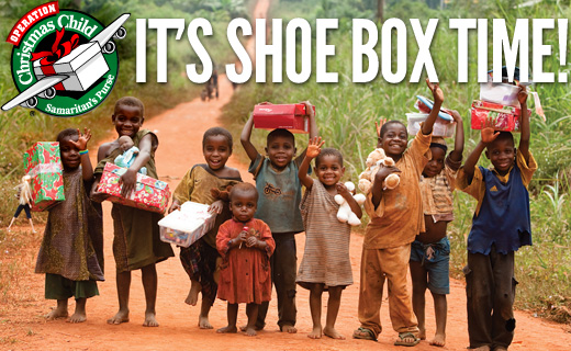 operation christmas child shoe box time